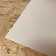 Solanyl bioplastic plaat wit