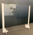 Transparante corona kap voor balie / buro