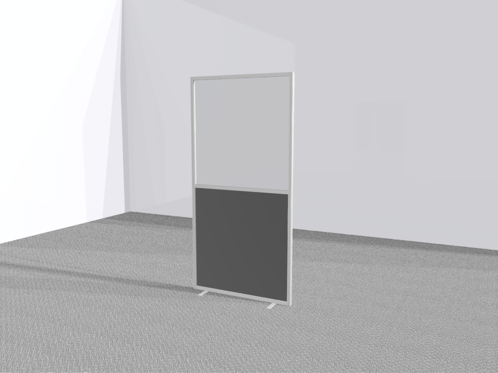 Verkiezingsscherm staand transparant