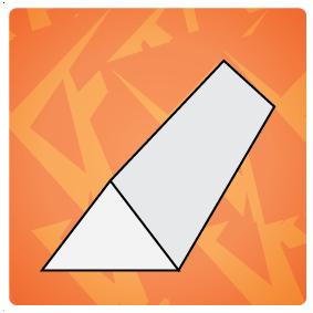 Driehoek staf